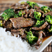 ATK'S CHINESE BRAISED BEEF, WITH BROCCOLI