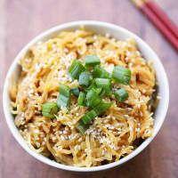 Asian Spaghetti Squash